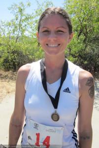 Arrowyn AMbrose, Valley Crest half Marathon Finish