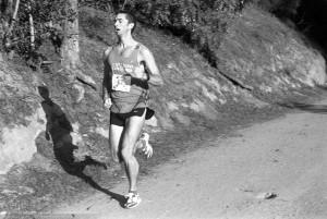 Fluffy Bunny Kevin Purcell, men's winner, 17:59
