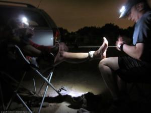 Kista, foot, 2am