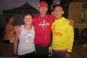 Geoff Cordner, Maggie Beach, Gabi Mendoza