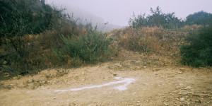 Arrow at mile 3