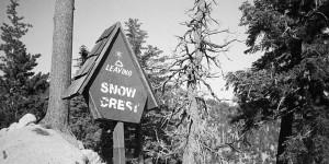 Leaving Snow Crest, mile 32
