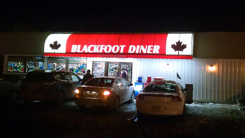 Blackfoot Diner, Calgary