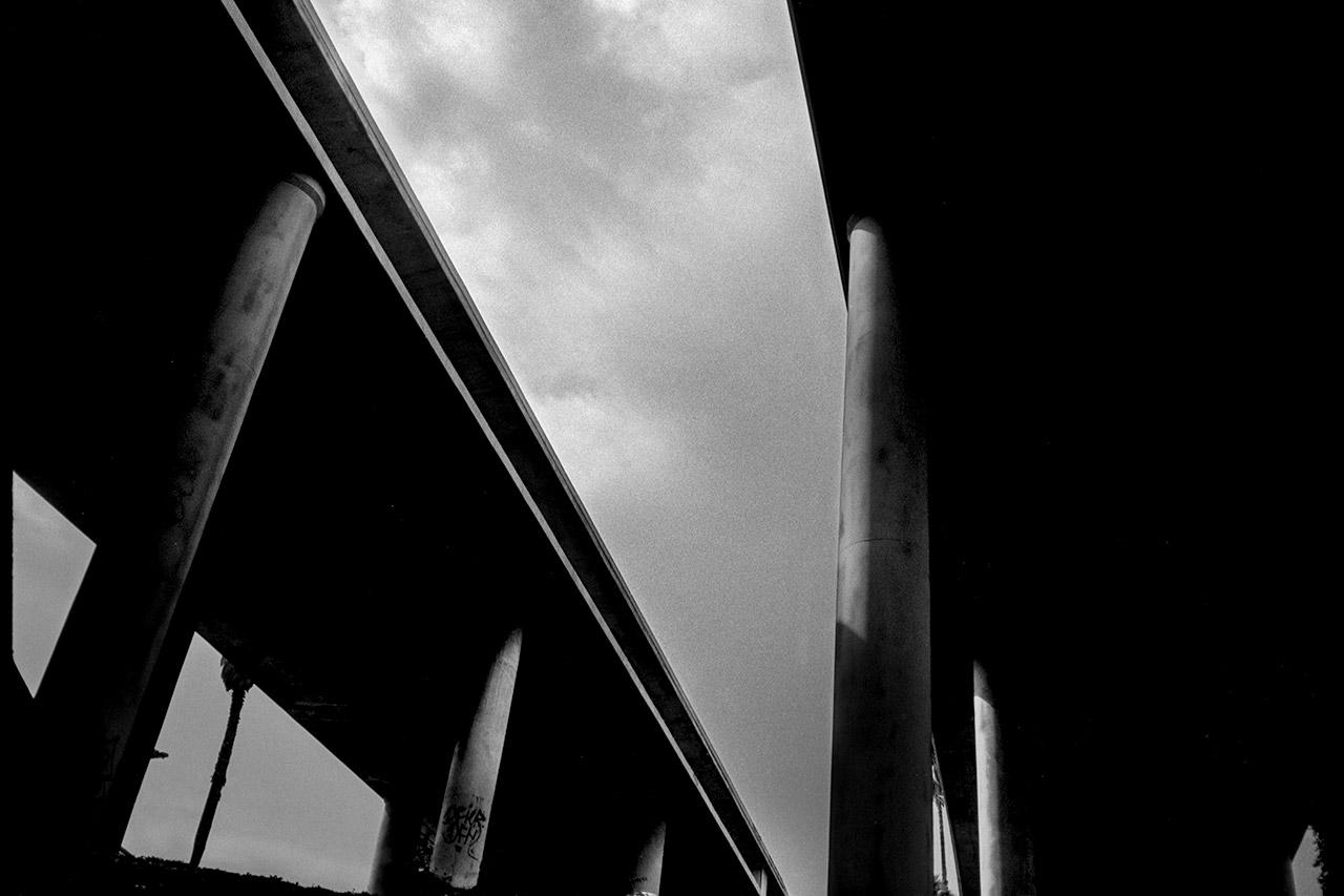 LA Freeway Brutalism