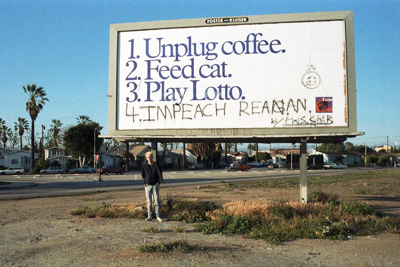 Me. Venice Beach, 1985.