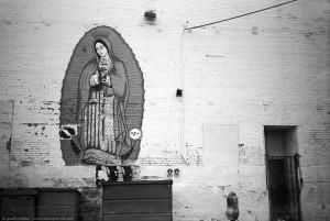 Parking Lot Virgin Mary