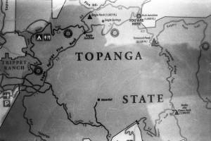 Topanga State Park Map