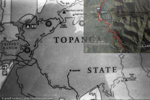Temescal Ridge Trail Map