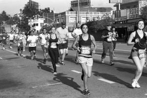 Suzanne Azzam, 21 yrs old, 2:00:57; Genevieve Ferrell, 21, 2:00:20