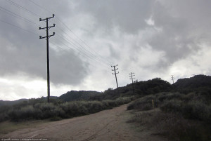 Topanga powerlines