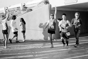 Jordan & Charlie run Danny in