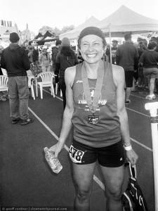 Maggie Beach, WS100 finisher