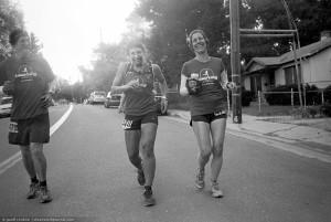 Maggie Beach & crew, last mile