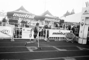 Maggie Beach, WS100, final sprint