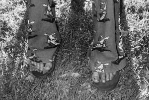 Winner's feet