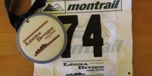 Leona Divide 2012 Bib & Medal