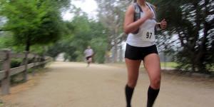 Claudia Meneses, mile 9.5