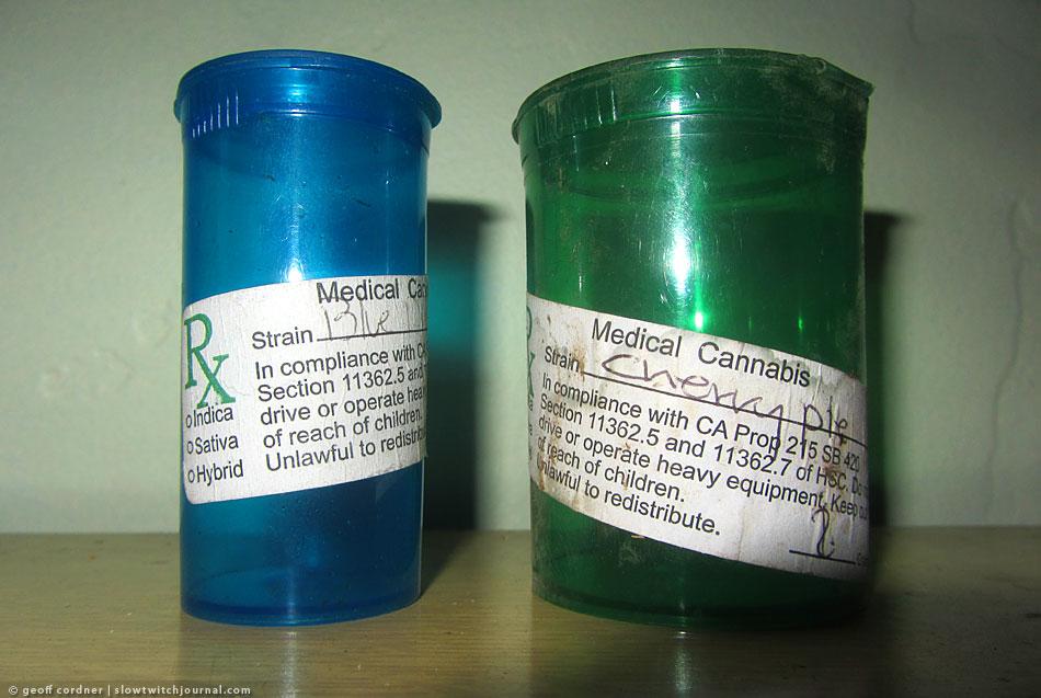 Medical marijuana trail trash.