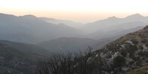 Sunset at Chilao