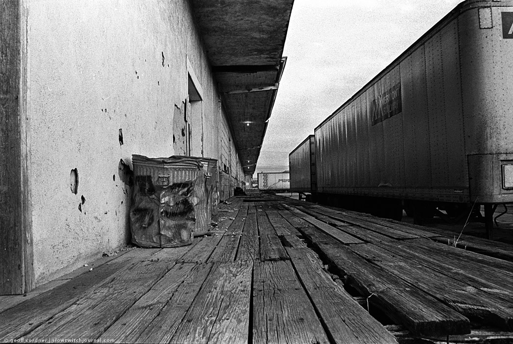 Train tracks, Austin Tx 1980