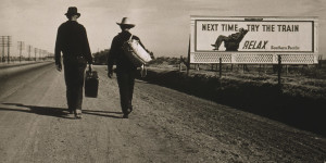Heading to Los Angeles, Dorothea Lange, 1937