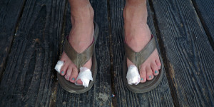 Taped Toes