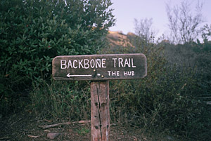 Backbone Trail / Hub Junction