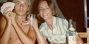 Me, Cyprus, 1977