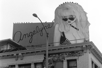 Angelyne, Hollywood Blvd 1995