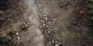 Rocks, mile 48