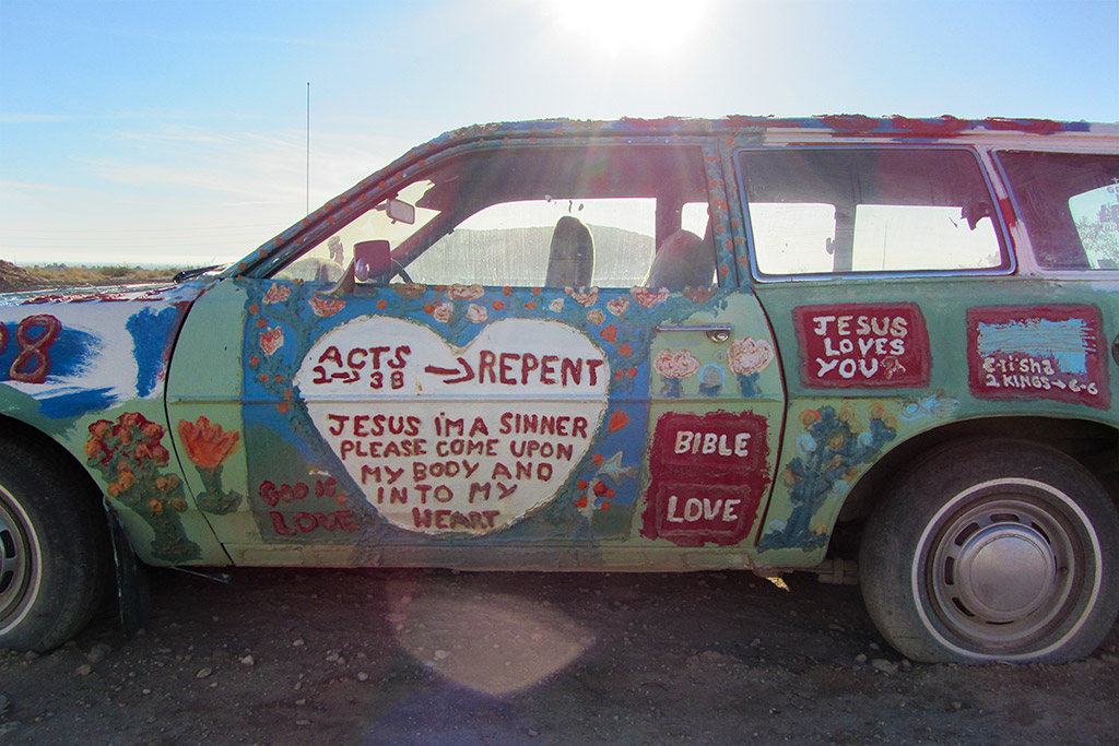 Sinner Repent, Salvation Mountain