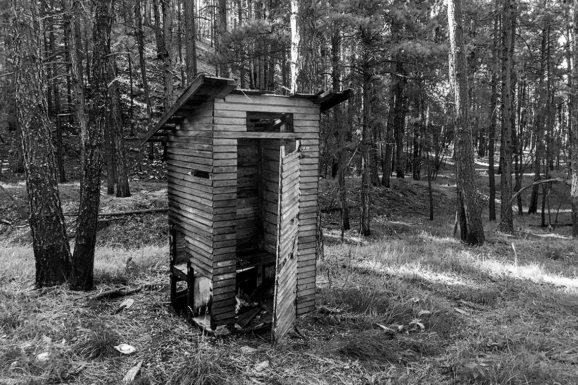 Outhouse on the Rim