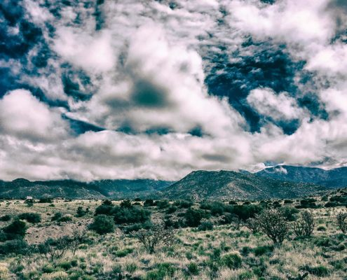 Clouds over the Sandias